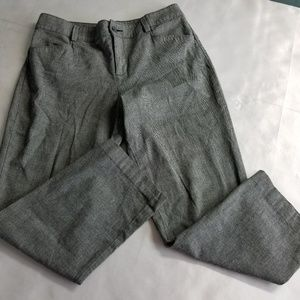 Lee Relaxed Fit Size 32x26 Gray Pinstripe